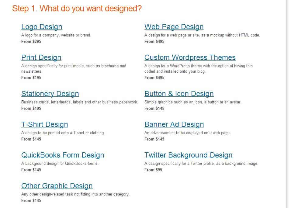 Use 99Designs for Your Next Logo, Web or Marketing Piece Design