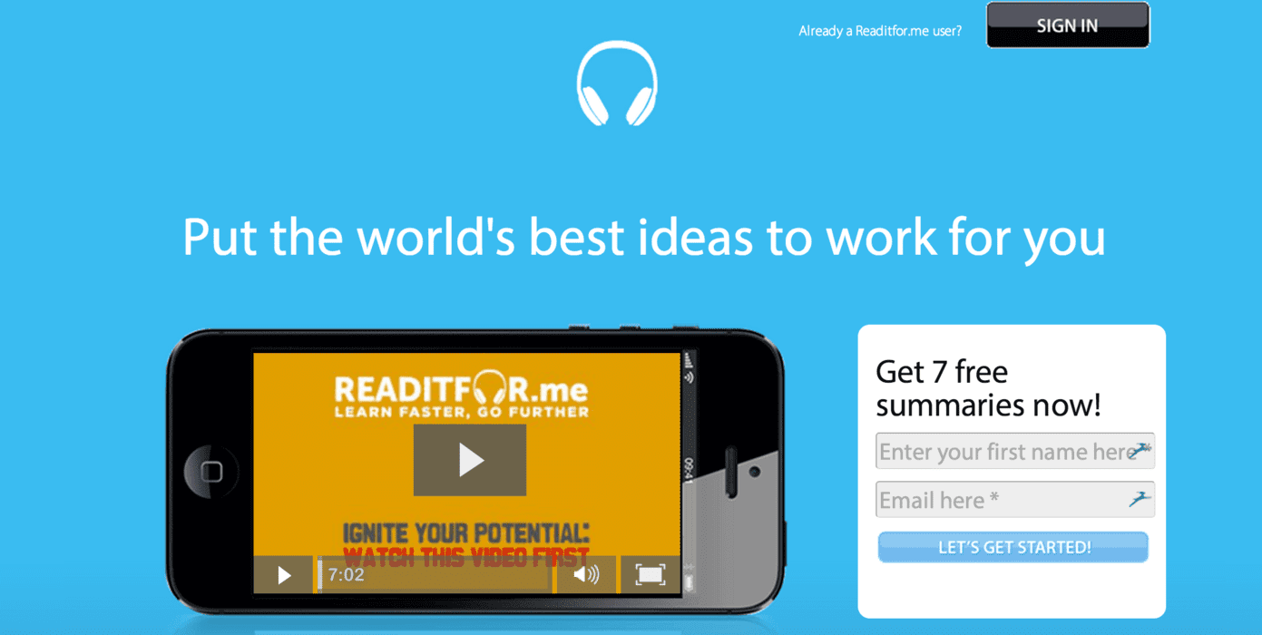 Readitfor.me is a Great Resource for Busy Marketers