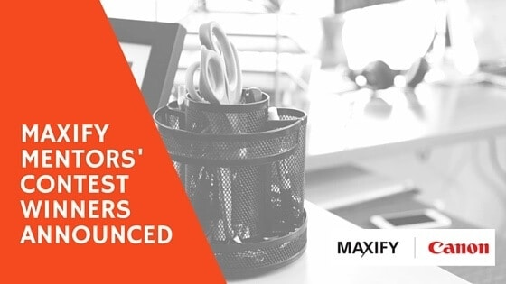 Announcing The Canon #MAXIFY Mentors Contest Nominees and Winners