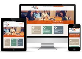 example of responsive website design for lead generation