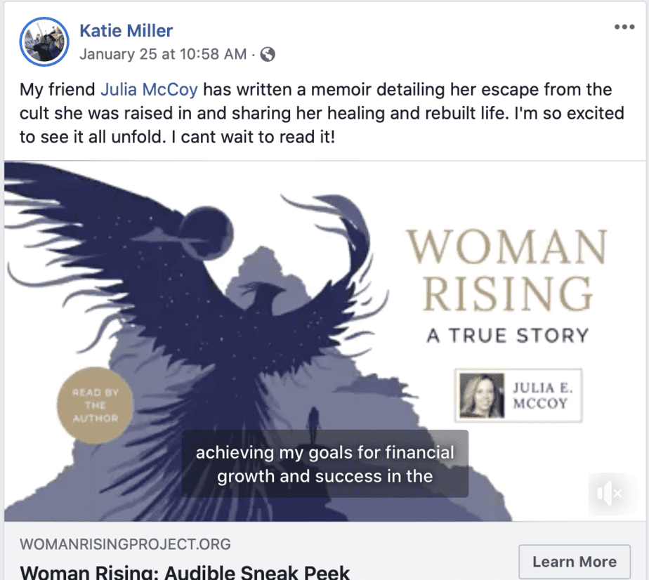 leverage your Facebook community to market your self-published book