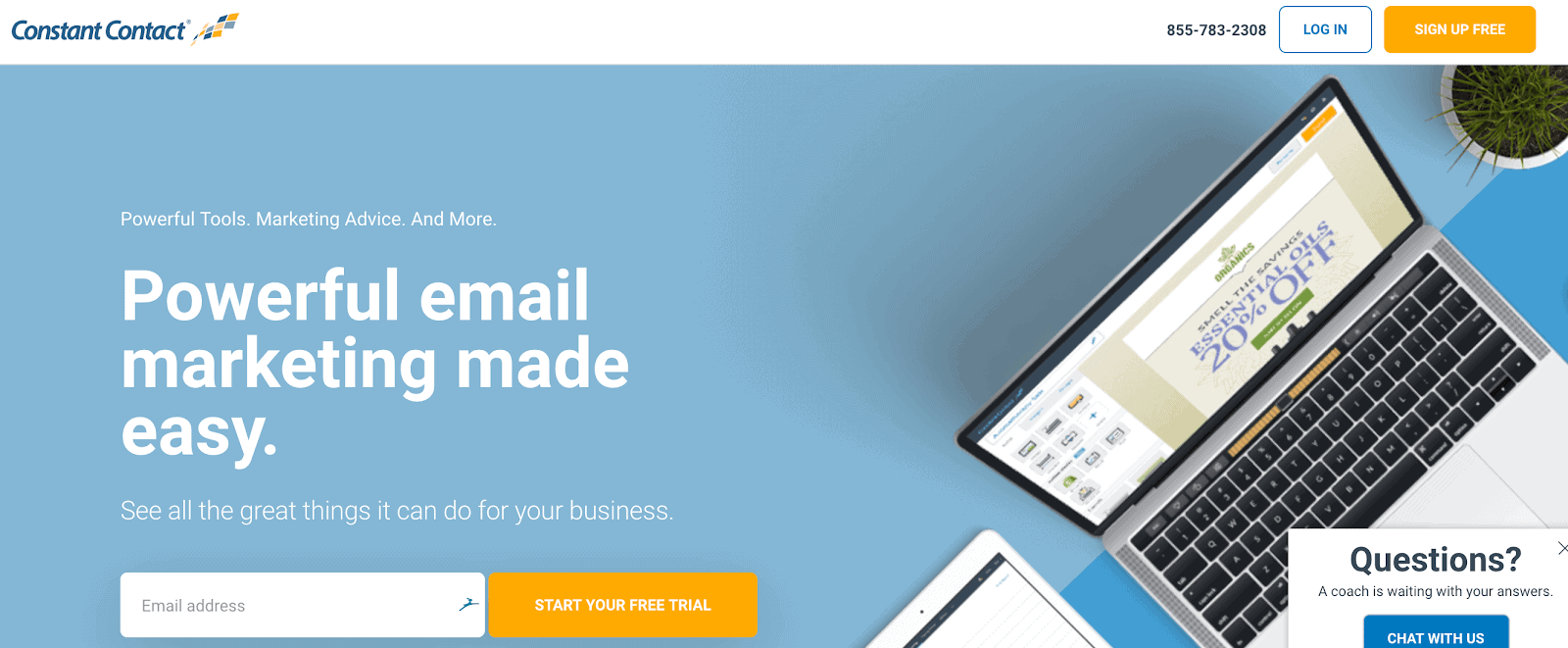 Constant Contact Email Service Provider