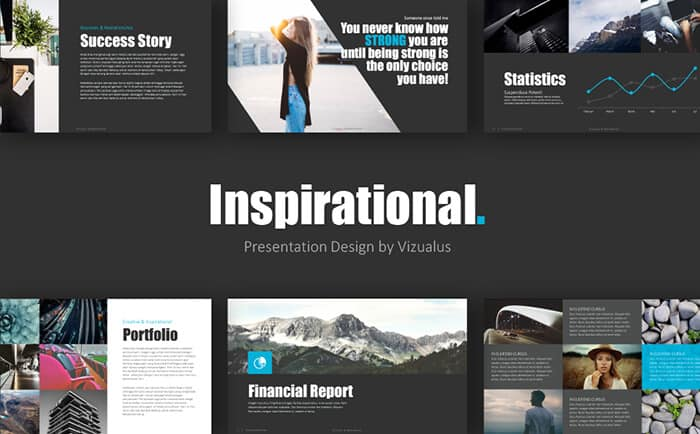 inspiration powerpoint template from template monster