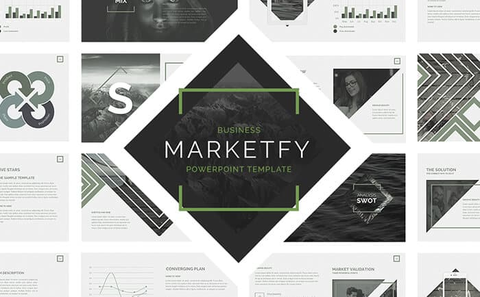 presentation design template from template monster