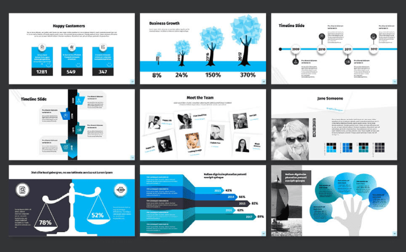 examples of powerpoint templates that align with your brand