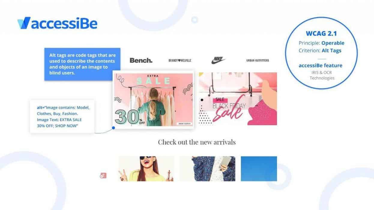 accessiBE, web accessibility tool for small business