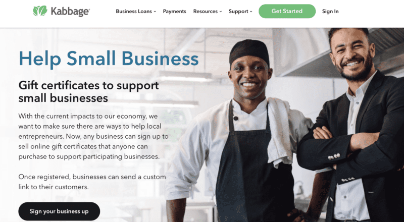 kabbage help small business crisis marketing  strategy