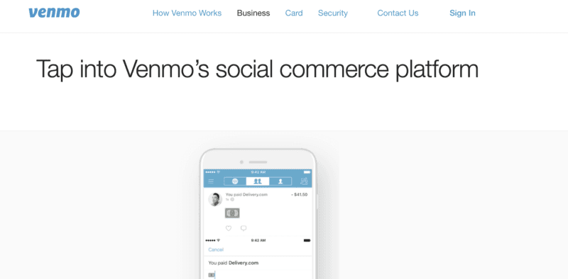 how businesses benefit from Venmo