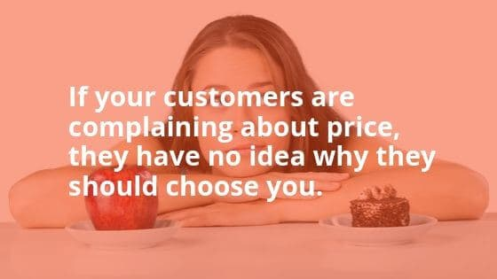 quote brand communication effect on pricing